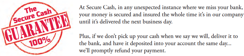 cash in transit guarantee
